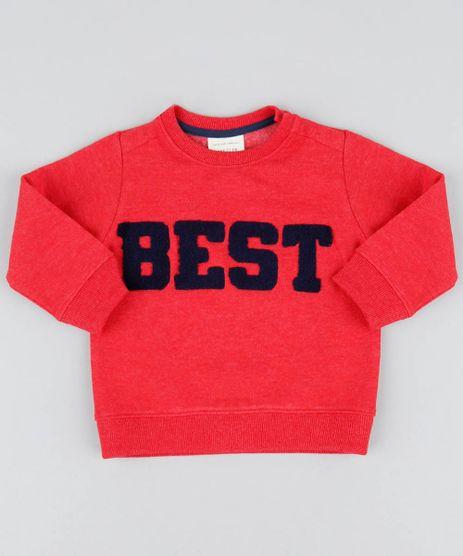 Blusao-Infantil--Best--em-Moletom-Gola-Careca-Vermelho-9370139-Vermelho_1