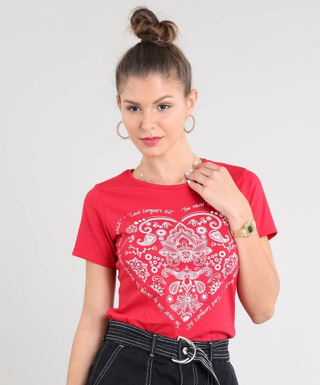 Blusa-Feminina-Coracao-Paisley-Manga-Curta-Decote-Redondo-Vermelha-9266823-Vermelho_1