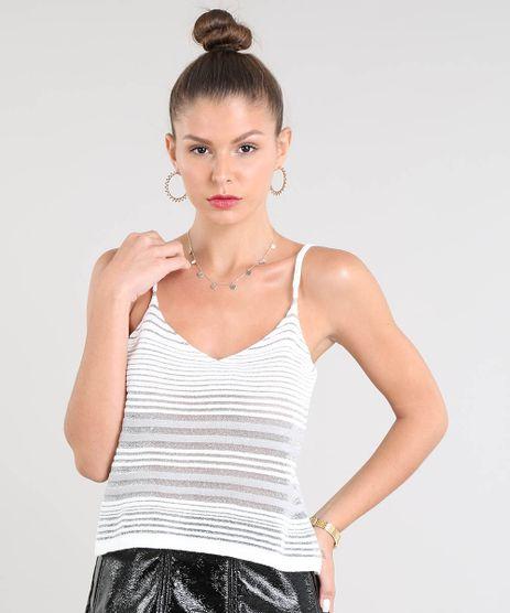Regata-Feminina-Listrada-em-Trico-com-Transparencia-Decote-V-Off-White-1-9441763-Off_White_1_1