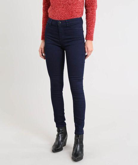 Calca-Jeans-Feminina-Cigarrete-Cintura-Media-Azul-Escuro-9504585-Azul_Escuro_1