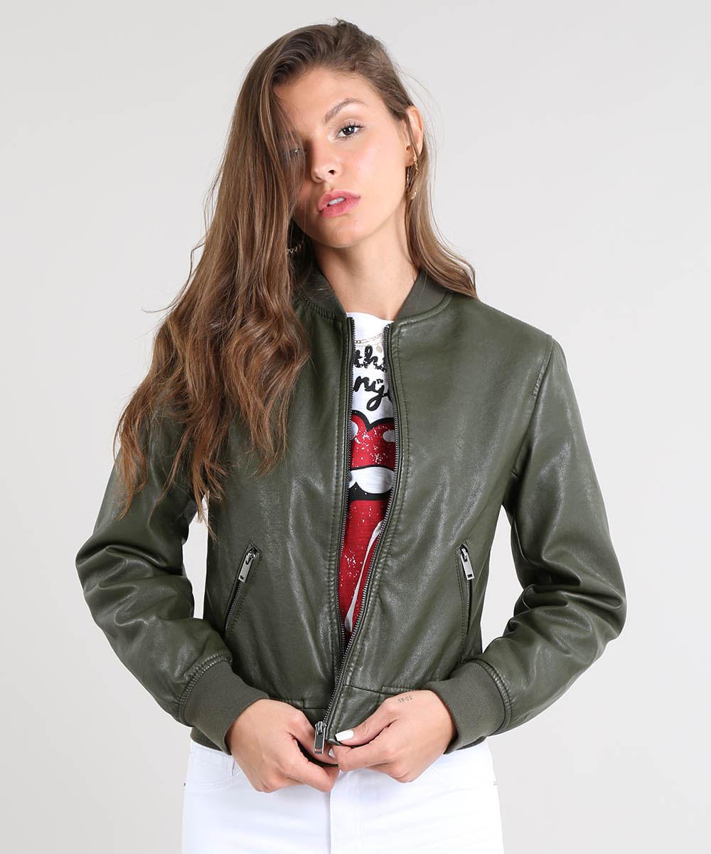 471dd56651a ... Jaqueta-Bomber-Feminina-Acolchoada-Verde-Militar-9363663-Verde_Militar_1