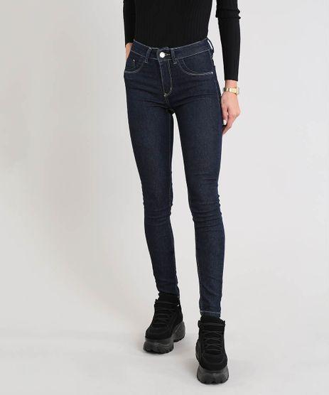 Calca-Jeans-Feminina-Sawary-Super-Skinny-Cintura-Alta-Azul-Escuro-9543127-Azul_Escuro_1