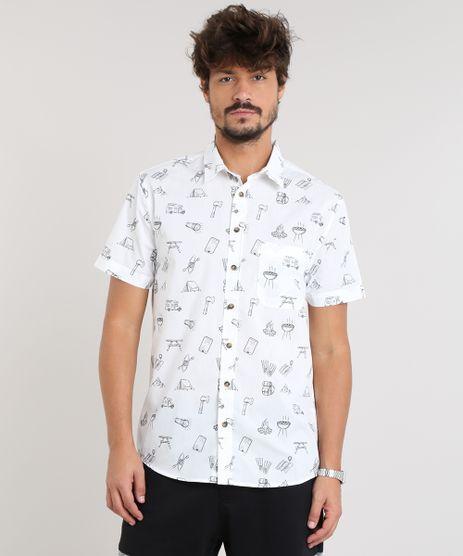 Camisa-Masculina-Estampada-com-Bolso-Manga-Curta-Off-White-9110475-Off_White_1