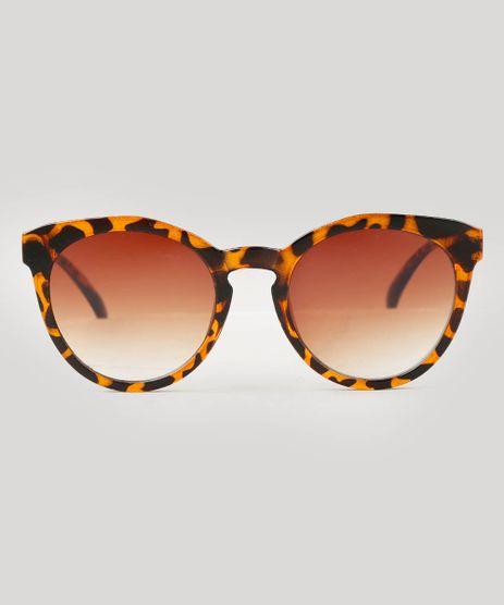 Oculos-de-Sol-Feminino-Redondo-Oneself-Tartaruga-9541715-Tartaruga_1