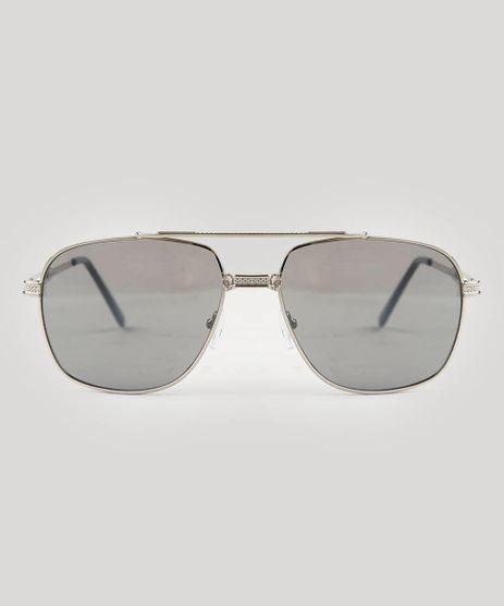 Oculos-de-Sol-Masculino-Quadrado-Oneself-Prateado-9541014-Prateado_1