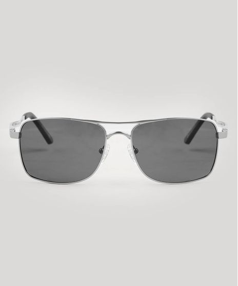 Oculos-de-Sol-Masculino-Quadrado-Oneself-Prateado-9543003-Prateado_1