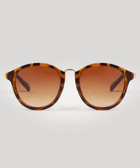 Oculos-de-Sol-Feminino-Redondo-Oneself-Tartaruga-9543015-Tartaruga_1