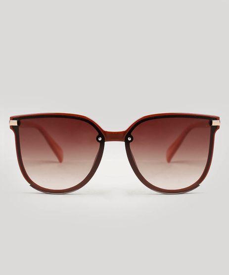 Oculos-de-Sol-Feminino-Redondo-Oneself-Vermelho-9542987-Vermelho_1