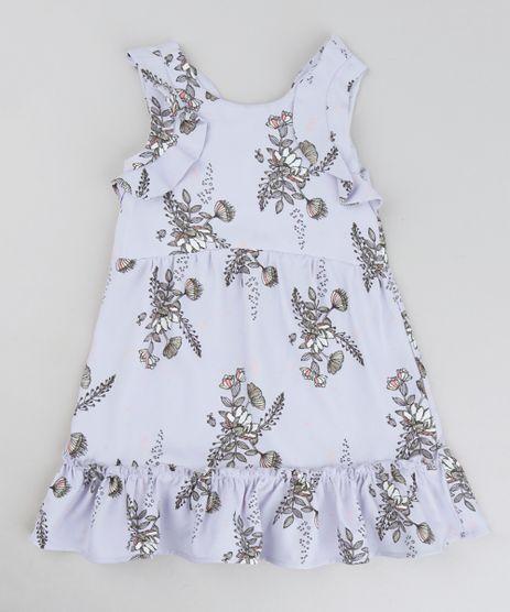 Vestido-Infantil-Estampado-Floral-com-Babados-Sem-Manga-Decote-Redondo-Lilas-9207222-Lilas_1
