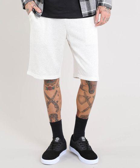 Bermuda-Masculina-em-Moletom-Mescla-com-Bolsos-Off-White-9468567-Off_White_1