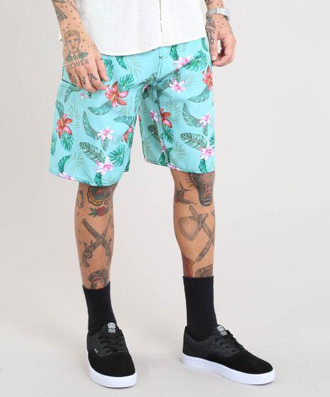 Bermuda-Surf-Masculina-Estampada-Floral-Verde-Claro-9443799-Verde_Claro_1