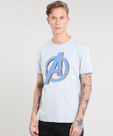 Camiseta-Masculina-Os-Vingadores-Manga-Curta-Gola-Careca-Cinza-Mescla-9485444-Cinza_Mescla_1