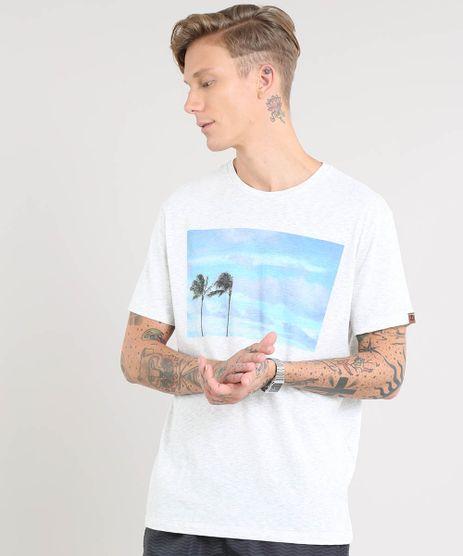 Camiseta-Masculina-Coqueiros-Manga-Curta-Gola-Careca-Cinza-Mescla-Claro-9448994-Cinza_Mescla_Claro_1