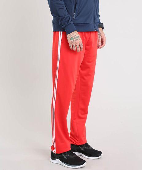Calca-Masculina-Esportiva-Ace-em-Moletom-com-Listras-Laterais-Vermelha-8187165-Vermelho_1