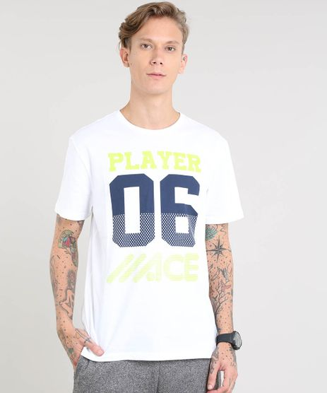 Camiseta-Masculina-Esportiva-Ace--Player-06--Manga-Curta-Gola-Careca-Off-White-9383017-Off_White_1