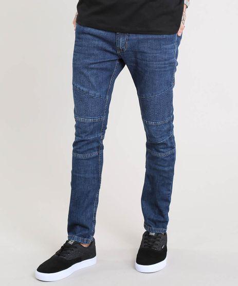 Calca-Jeans-Masculina-Skinny-com-Recortes-Azul-Escuro-9450047-Azul_Escuro_1