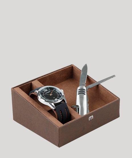 Kit-de-Relogio-Analogico-Mondaine-Masculino---Canivete---99374G0MVNI1K-Prateado-9398481-Prateado_1