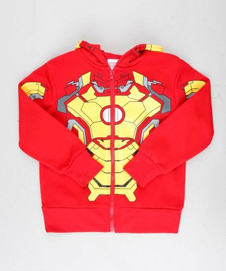 Blusao-Infantil-Homem-de-Ferro-em-Moletom-com-Capuz-com-Mascara-Vermelho-8468860-Vermelho_1