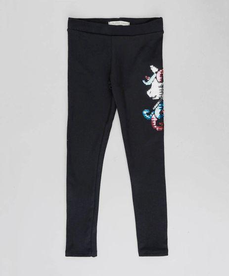 Calca-Legging-Infantil-Unicornio-com-Paete-Dupla-Face-Preta-9504275-Preto_1