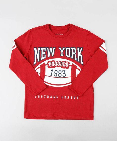 Camiseta-Infantil-com-Bordado-Manga-Longa-Gola-Careca-Vermelha-9440080-Vermelho_1