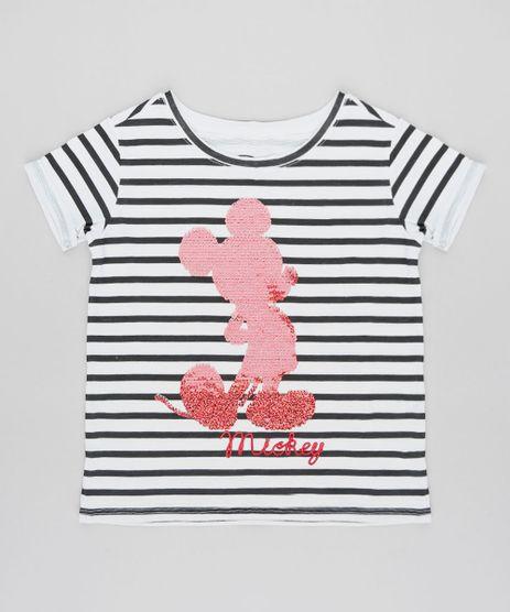 Blusa-Infantil-Mickey-Listrada-com-Paete-Dupla-Face-Manga-Curta-Decote-Redondo-Off-White-9457402-Off_White_1