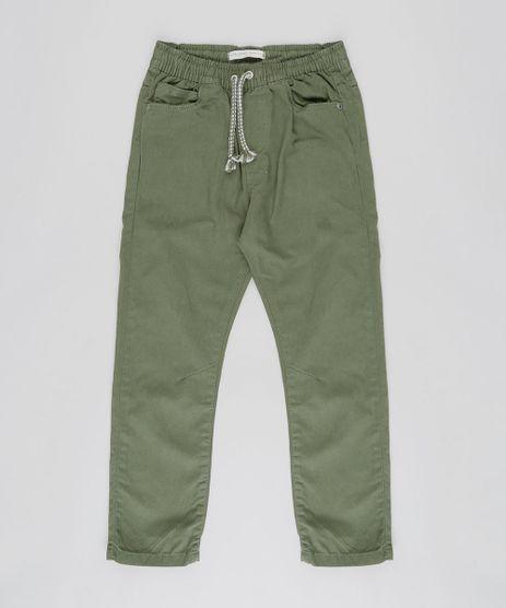Calca-Color-Infantil-Jogger-com-Cordao-Verde-Militar-9453589-Verde_Militar_1
