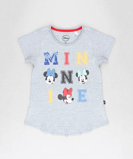 Blusa-Infantil-Minnie-com-Paete-Manga-Curta-Decote-Redondo-Cinza-Mescla-9230156-Cinza_Mescla_1