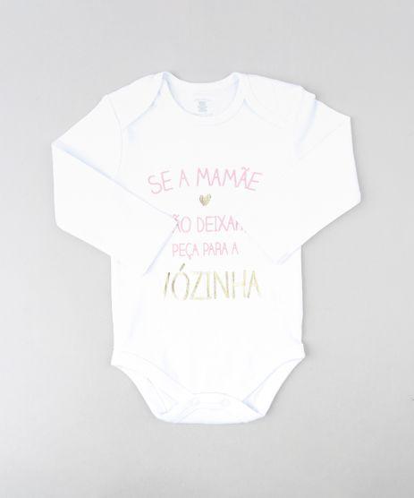 Body-Infantil--Se-a-Mamae-Nao-Deixar--Manga-Longa-Decote-Redondo-Branco-9208119-Branco_1