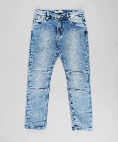 Calca-Jeans-Infantil-em-Moletom-Azul-Medio-9453227-Azul_Medio_1