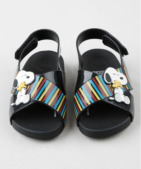 Sandalia-Infantil-Zaxy-Nina-Snoopy-com-Tiras-Cruzadas-Preta-9512483-Preto_1