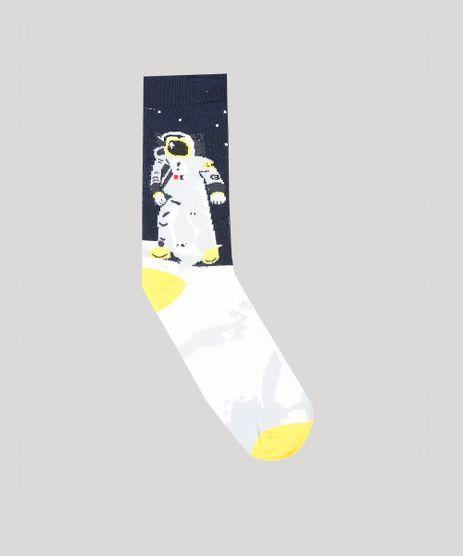 Meia-Masculina-Cano-Alto-Divertida-Estampada-Astronauta-Azul-Marinho-9429290-Azul_Marinho_1