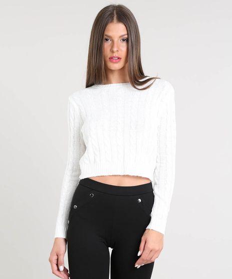 Sueter-Feminino-Basico-Cropped-em-Trico--Off-White-9359671-Off_White_1