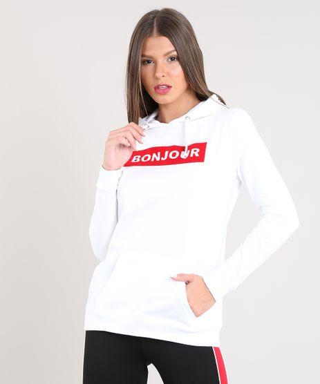 Blusao-Feminino--Bonjour--em-Moletom-com-Capuz-Off-White-9462587-Off_White_1