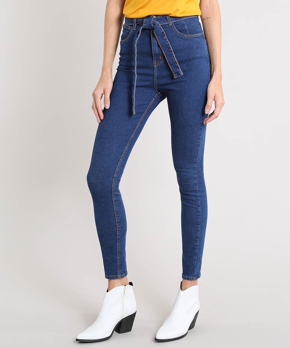 7b84f6b3c ... Calca-Jeans-Feminina-Skinny-Clochard-Azul-Escuro-9532133-