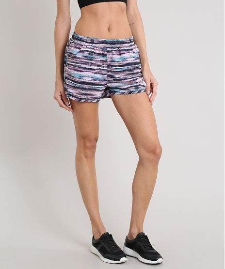 Short-Feminino-Running-Esportivo-Ace-Estampado-com-Bolsos-Rose-9399780-Rose_1
