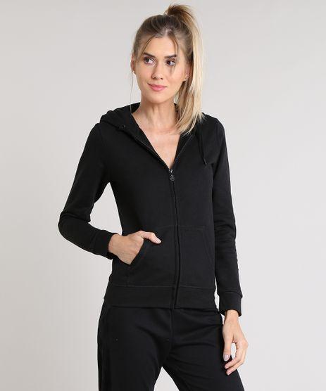 Blusao-Feminino-Esportivo-Ace-em-Moletom-com-Capuz-e-Bolsos-Preto-9347915-Preto_1