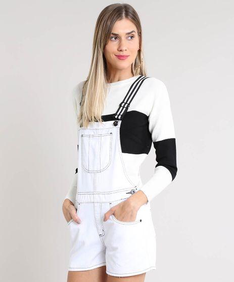 Jardineira-de-Sarja-Feminina-com-Alca-Listrada-Branca-9540719-Branco_1
