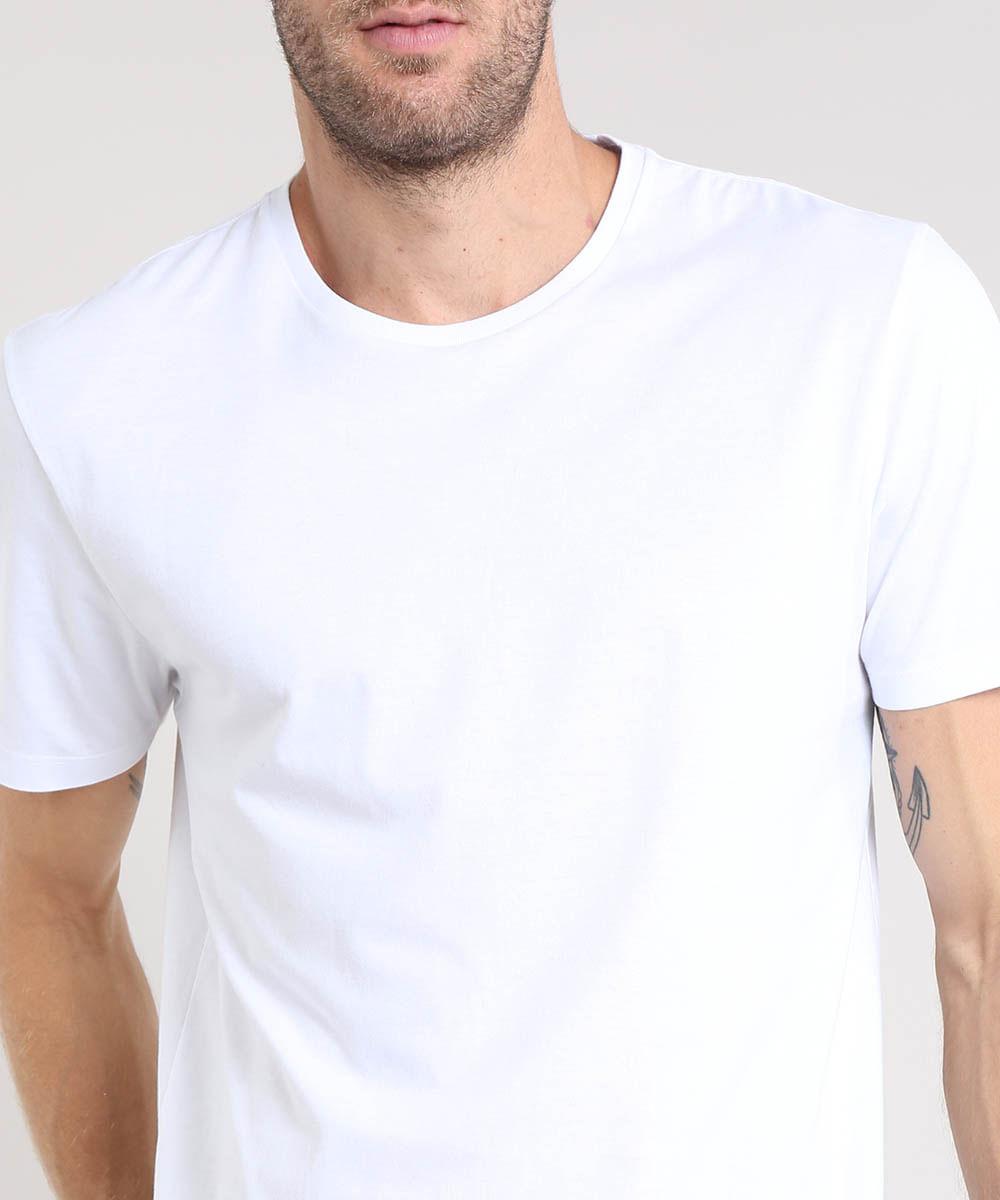 Camiseta-Masculina-Basica-Manga-Curta-Gola-Careca-Branca-8472740-Branco_4