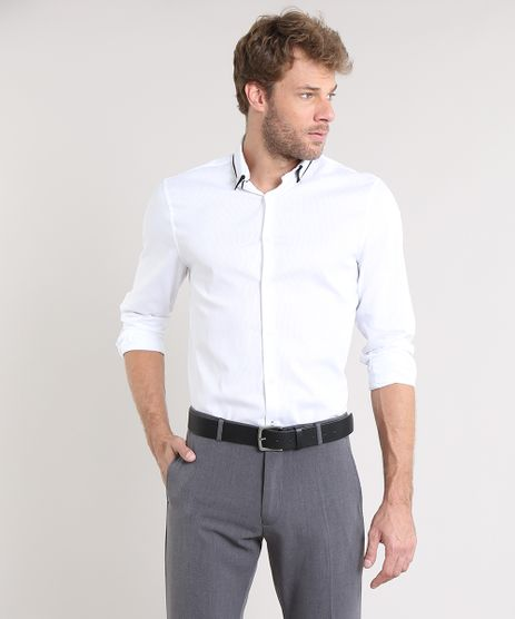 Camisa-Masculina-Comfort-Texturizada-Manga-Longa-Branca-9475665-Branco_1