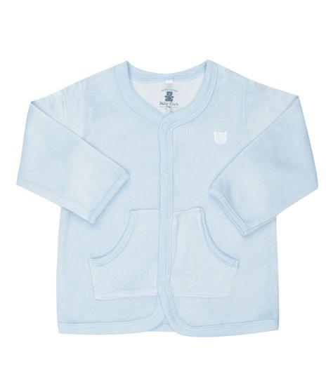 Cardigan-em-Plush-de-Algodao---Sustentavel-Azul-Claro-8319366-Azul_Claro_1