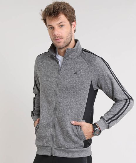 Blusao-Masculino-Esportivo-Ace-em-Moletom-com-Bolsos-Gola-Alta-Cinza-Mescla-Escuro-8187446-Cinza_Mescla_Escuro_1_1
