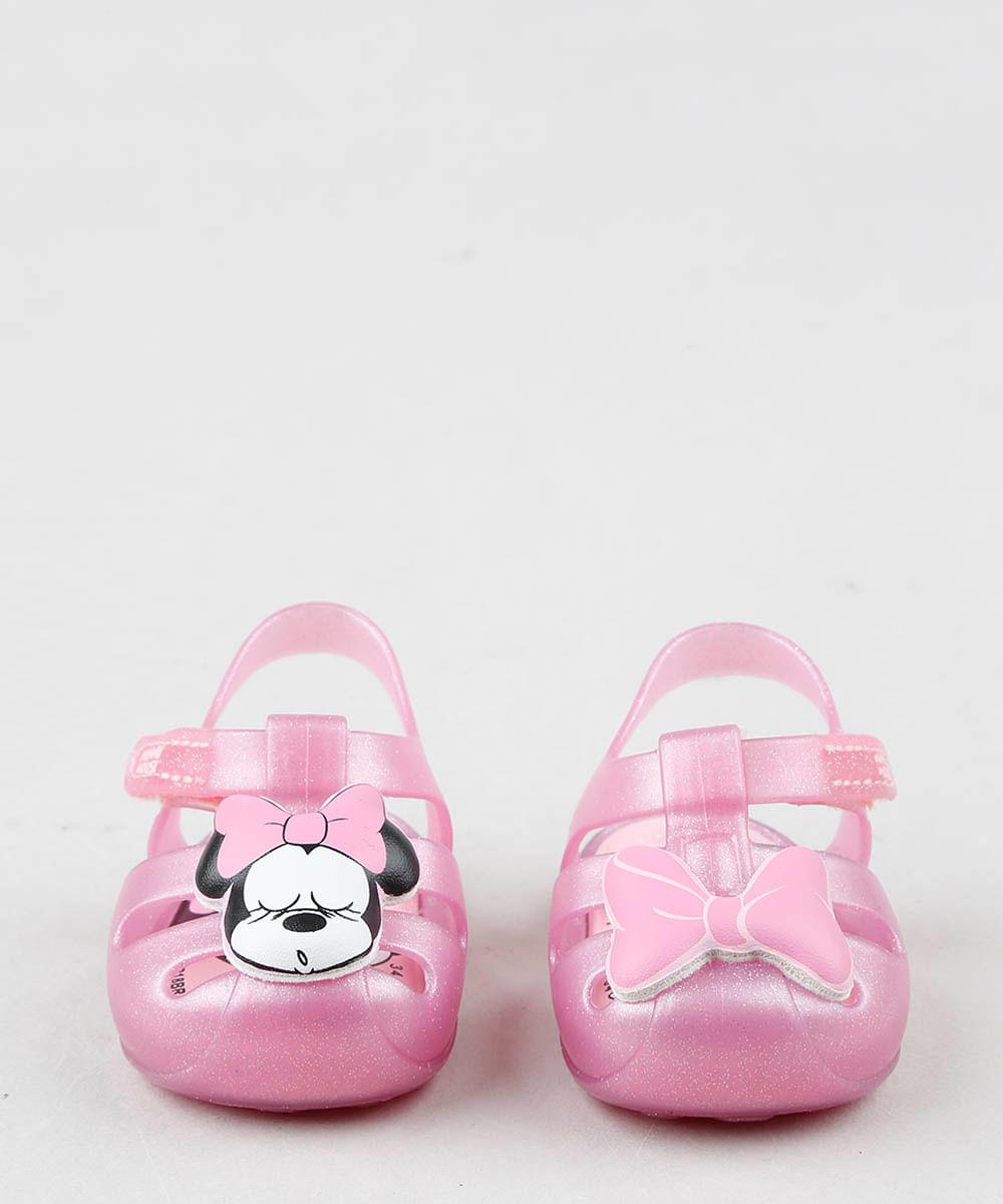a5d1aeb47 ... Sandalia-Infantil-Grendene-Minnie-com-Glitter-Rosa-9519903-