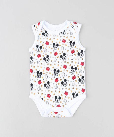 Body-Infantil-Mickey-Estampado-Sem-Manga-Gola-Careca-Branco-9190302-Branco_1