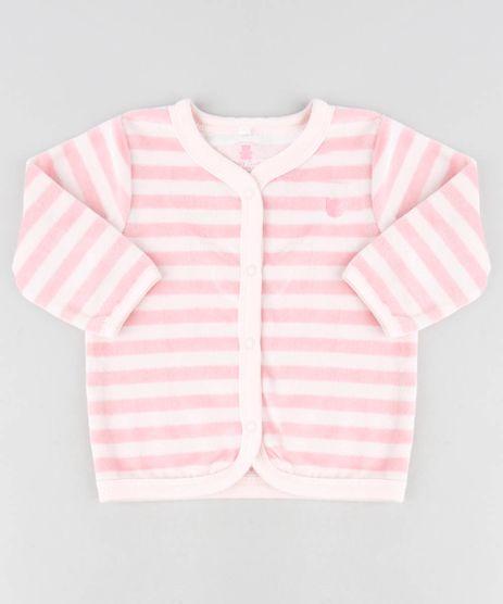 Cardigan-Infantil-Listrado-em-Plush-Rose-1-9195538-Rose_1_1