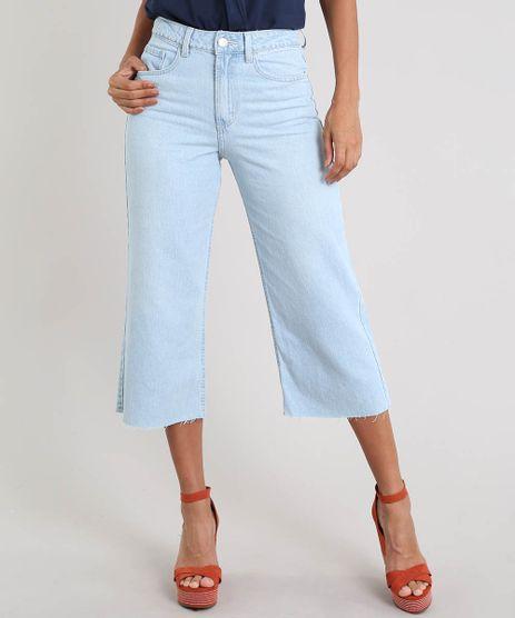 Calca-Jeans-Feminina-Pantacourt-com-Barra-Desfiada-Azul-Claro-9346403-Azul_Claro_1
