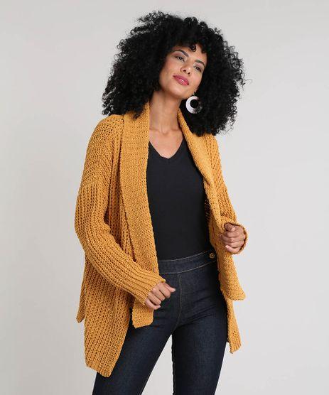 Capa-Feminina-Assimetrica-em-Trico-Amarelo-Escuro-9362504-Amarelo_Escuro_1