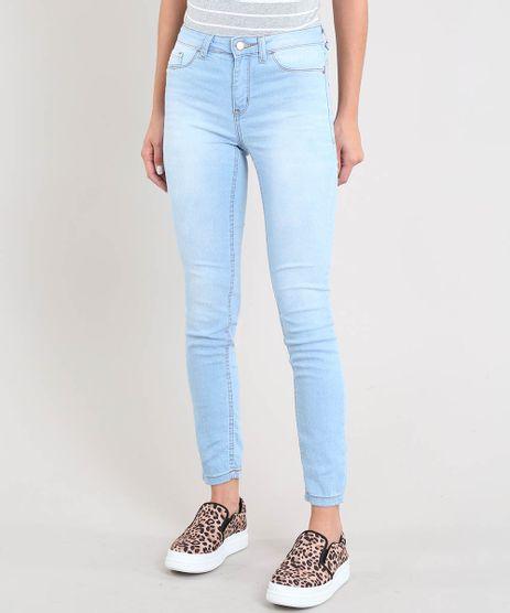 Calca-Jeans-Feminina-Cigarrete-Azul-Claro-9530470-Azul_Claro_1