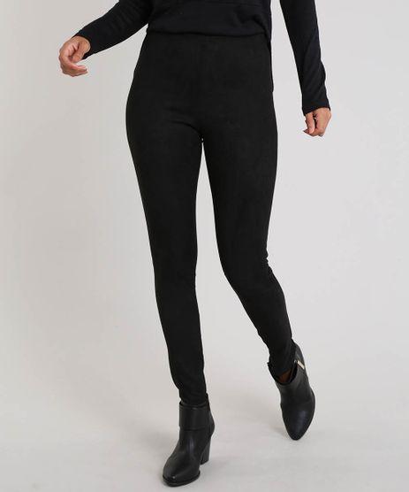 Calca-Legging-Feminina-com-Suede-Preta-9452751-Preto_1