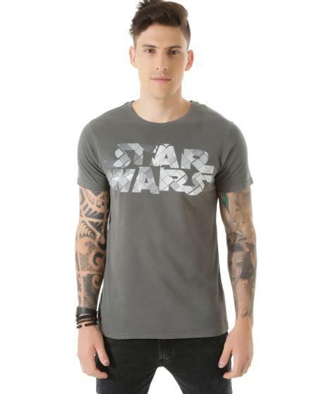 29dea106a Camiseta-Star-Wars-Cinza-8451605-Cinza 1 ...