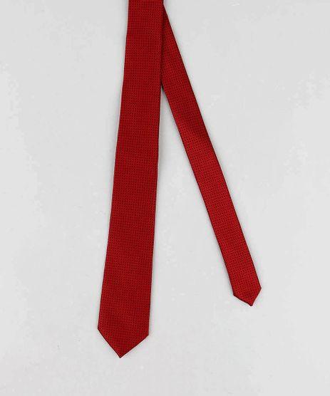 Gravata-Masculina-em-Jacquard-Vermelha-8593924-Vermelho_1